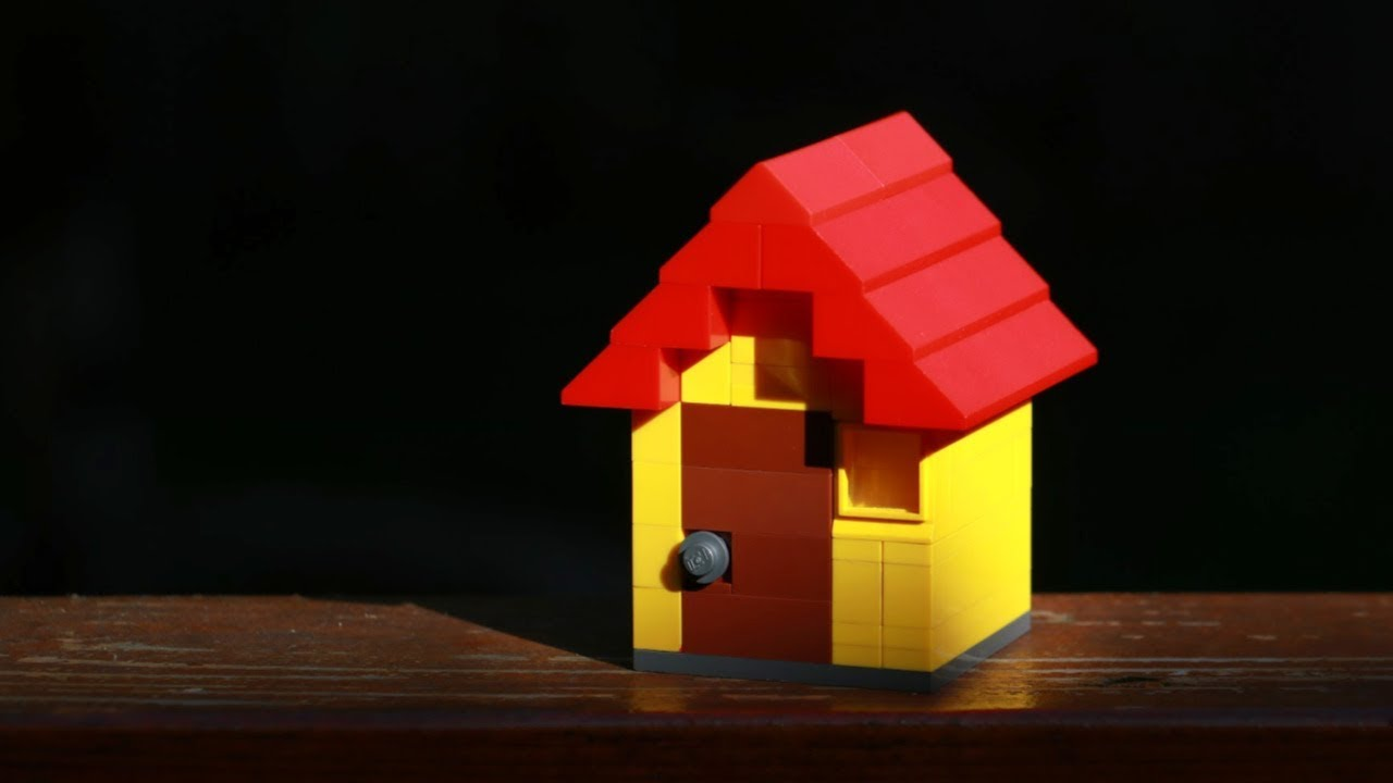 This is Not Just A LEGO House⎪A Puzzle Box!!