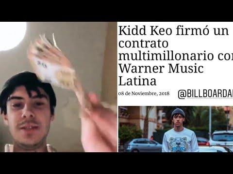 KIDD KEO FIRMA un CONTRATO MULTIMILLONARIO con WARNERMUSIC