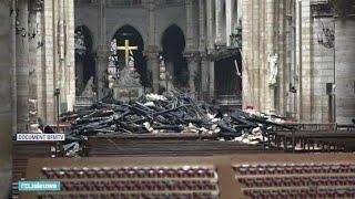 Zo Ziet De Notre-Dame Er Van Binnen Uit Na De Brand - RTL NIEUWS