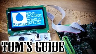 3D printing guides - Setting up a LCD and SD card controller panel