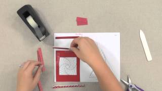 Make Cards With Iris-Folding Techniques -- An Annies Paper-Craft Tutorial