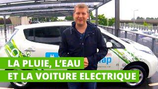 La pluie, l'eau et la voiture électrique : y a t-il danger ?
