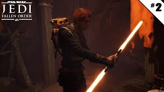 Star Wars Jedi : Fallen Order - Ep 2 - On se fait un double sabre laser ! - Let's Play FR HD