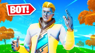 I am now a BOT in Fortnite?!?