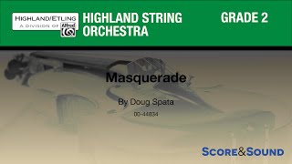 Masquerade by Doug Spata – Score & Sound