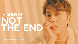 HIGHLIGHT - NOT THE END | Line Distribution