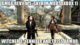 Skyrim SE Mods: Yennifer and Triss armor from Witcher 3 (Xbox 1)