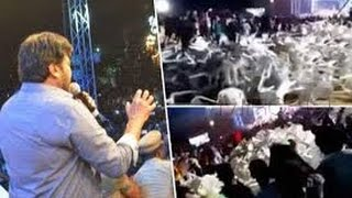 Pawankalyan Fana Gets Iritated In Khaidi No 150 Pre Release Event  VV VINAYAK  KAJAL
