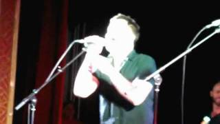 "Marc Martel of downhere sings ""Somebody To Love"""