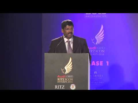 Dr Prateep V Philip - AUDI RITZ ICON AWARDS (Chennai Edition) - 2014