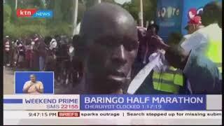 Lucy Cheruiyot and Isaac Kipkoech emerge Baringo Half Marathon winners