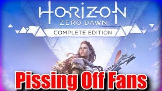 Horizon Zero Dawn Complete Edition & DLC is Making Fans Angry