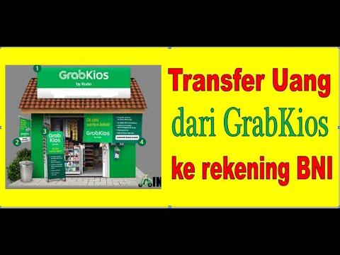 TRANSFER UANG DARI GRABKIOS/KUDO KE REKENING BNI