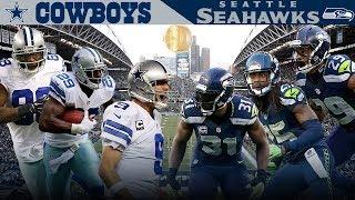 Dallas' Big 3 Takes on the Legion of Boom! (Cowboys vs. Seahawks, 2014) | NFL Vault Highlights | Kholo.pk