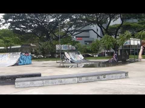 Singapore Skateboard Somerset Skatepark HD
