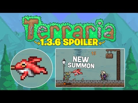Terraria 1.3.6 adds new Summon Weapon! (plus memes)
