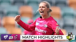 Sixers survive scare against Canes to remain unbeaten | WBBL|07