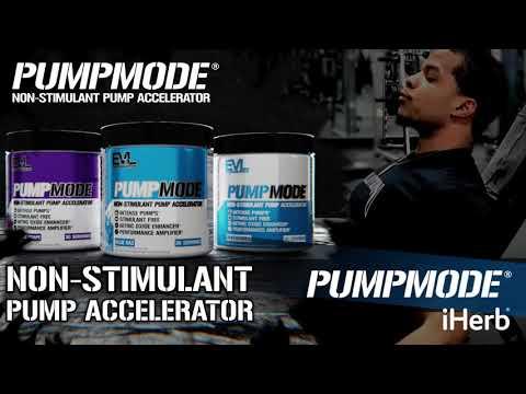 EVLution Nutrition, PumpMode 非興奮劑泵促進劑,葡萄味,6.14 盎司(174 克)