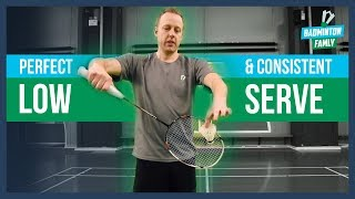 Perfect Low Serve, Tips and Tricks, Badminton