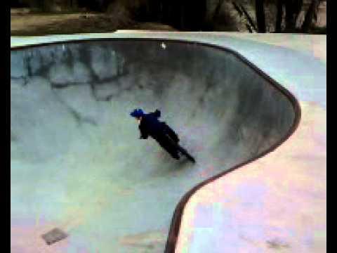 The Driggs Skate Park.