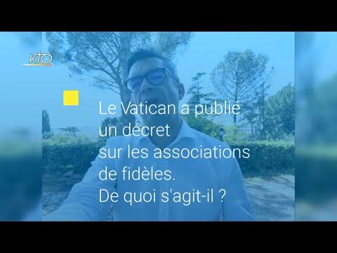 Mandats de gouvernance dans les associations de fidèles : trois questions à Laurent Landete