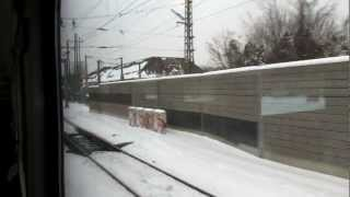 preview picture of video 'Austria S-Bahn Unglück in Wien Penzing 2013.01.21'