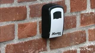 Sleutelkluisje, Masterlock openen 5401 versus 5415