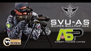 SVU-AS SNIPER BULLPUP AEG SOUL # AIRSOFT PIONEER LIMITED / AIRSOFT REVIEW [ENG SUB]