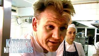 Gordon Ramsay Pranks Stubborn Owner | Kitchen Nightmares