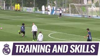 VIDEO Los golazos en la práctica de este martes en el RealMadrid