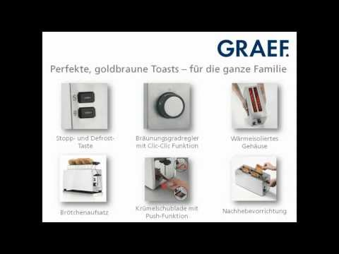 Graef Toaster TO 100 & TO 101