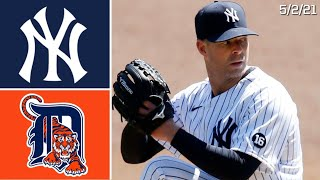 New York Yankees Vs. Detroit Tigers | Game Highlights | 5/2/21