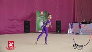 'Юлена 2019'  Фрагменты выступлений гимнасток 2007-2002 г р  категории D и C (19.04.2019)