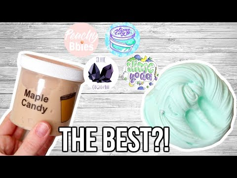 Which FAMOUS Slime Shop Is THE BEST?! (Part 2) Mp3