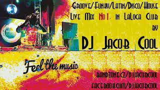 Video Dj Jacob Cool - Live Mix No1. In LaLoca Club
