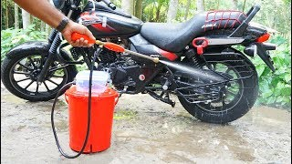 How to Make Portable Bike / Car Washer