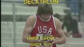 Bruce Jenner- decathlon 1978 First day