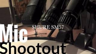 Floor Tom Mic Shootout Comparison Md421, Sm57 And I5