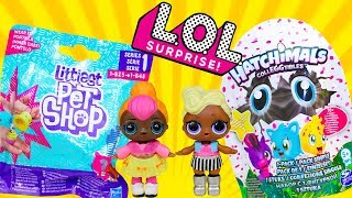 Куклы ЛОЛ Чей Сюрприз Лучше? Hatchimals vs LPS Мультики про куклы LOL Surprise Видео для детей