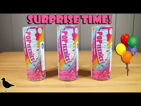 Party Pop Teenies Single Surprise Popper Toy Opening & Review | Birdpoo Reviews