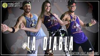 La Diabla (Zumba) | Alex Sensation, Nicky Jam | Choreography Equipe Marreta 2018