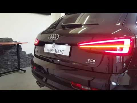 Audi Q3 8U Facelift LED Rückleuchten dynamischer Blinker
