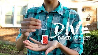 DIVE by David Koehler (@dkmagician) | COLOR CHANGING Card Trick TUTORIAL