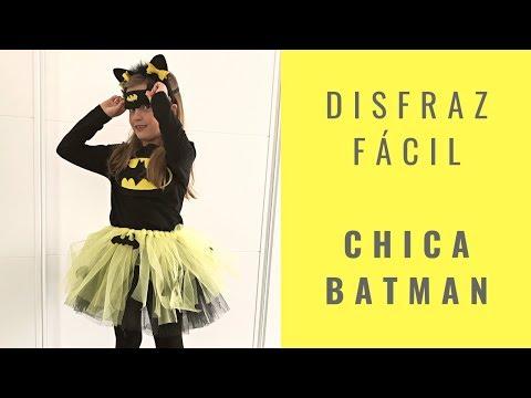 Disfraz rápido Chica Batman