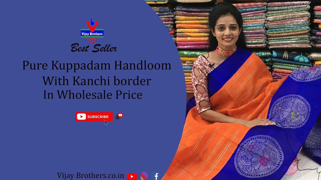 "<p style=""color: red"">Video : </p>Latest Kuppadam Handloom Pattu Sarees Collections 