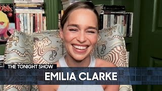 Emilia Clarke Unveils Her New Marvel Series| The Tonight Show Starring Jimmy Fallon