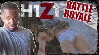 Battle Royale H1Z1 Gameplay - PIECED UP! | H1Z1 BR Gameplay