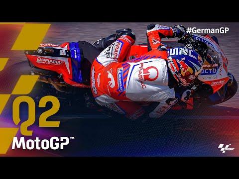 MotoGP 2021 カタルニアGP 予選Q2タイムアタックのハイライト動画