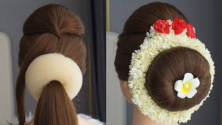 Thai Hairstyle For Wedding - Indian Wedding Hairstyles For Straight Hair | Easy Hairstyle