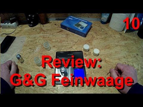 G&G Feinwaage / Taschenwaag (300g/0,01g)   - Waldfein Review #03